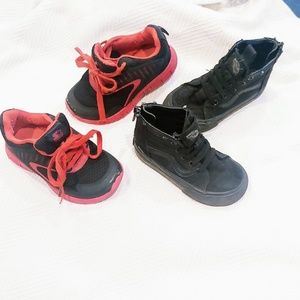 ❗Sold ❗ Boy Shoe Bundle ▪️VANS and Starter Shoes